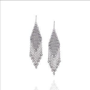 New Chloe + Isabel Waterfall Chandelier Earrings